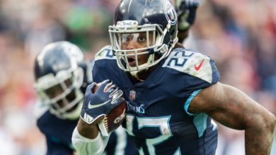 Derrick Henry's Arrival To Chiefs vs Titans Goes Viral