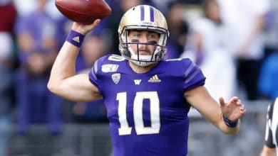 Washington's Jacob Eason Struggling At NFL Combine?