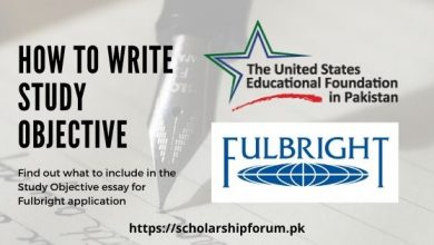 Photo of How to Write Study Objective for Fulbright Scholarship