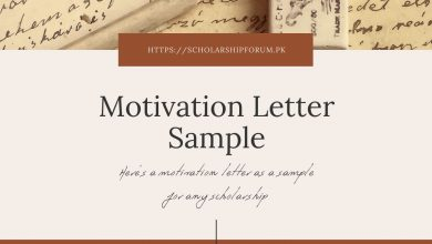 Photo of Sample Motivation Letter for Scholarship Applications