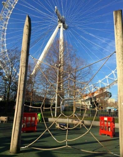 Jubilee park and the london eye