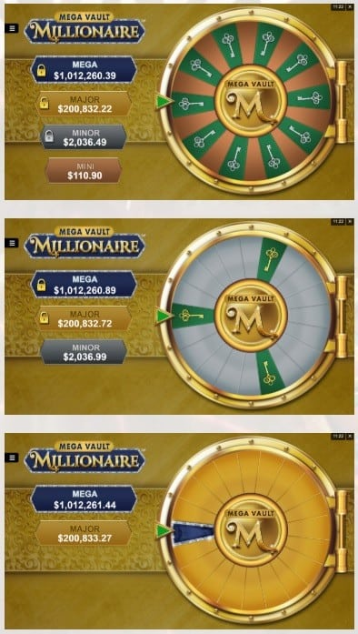 Mega Vault Millionaire big win