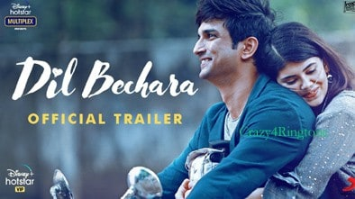 Dil Bechara Movie Ringtone | ft Sushant Singh Rajput