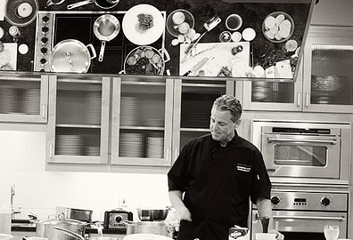 Chef Richard Chamberlain - cooking demonstration.