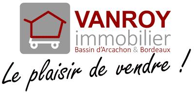 Logo VANROY Immobilier Bassin d'Arcachon & Bordeaux