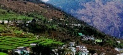 Makkumath Village in Rudraprayag district near to Chopta Tungnath .