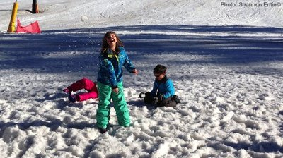 Ski trips with kids are better when you take breaks for fun.