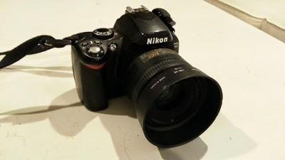 My Nikon D40 DSLR