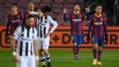 Barselona uz dosta muke do tri boda protiv Levante