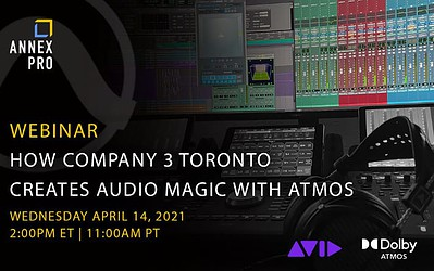 How Company 3 Toronto Create Audio Magic with Atmos