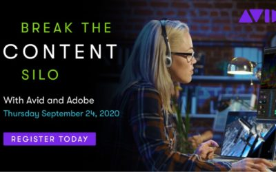 Break The Content Silo with Avid and Adobe – Sept 24