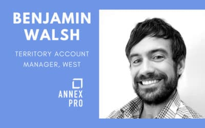 Annex Pro Promotes Benjamin Walsh to Territory Account Manager – West