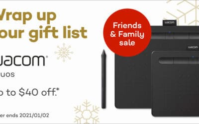 Find your gift: Save up to $40 off Wacom Intuos