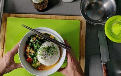 Thai Curry with Crispy Tofu
