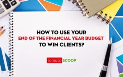 How to use your end of the financial year budget to delight clients? – Old and New