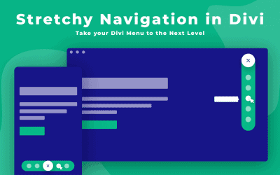 How to Create Stretchy Navigation in Divi