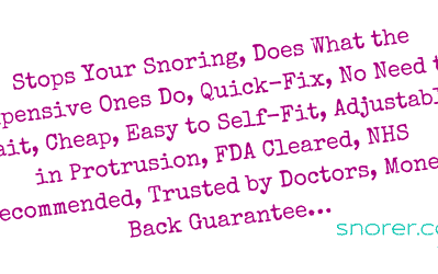 Dental Devices for Snoring: 9 Crazy Claims Sleep-expert Reviewed (2019)
