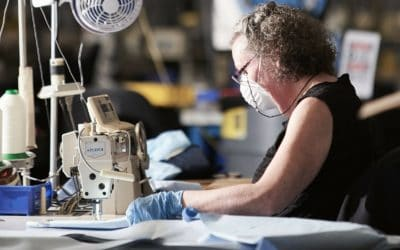 From Tents To Gowns; How One Asheville Manufacturer Is Stepping Up During COVID-19