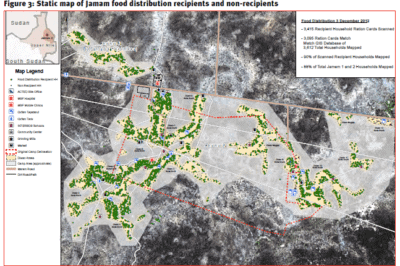 REACH uses GIS to map out need down to the household in Jamaica. From Westrope, 2013.