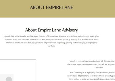 Transforming Empire Lane