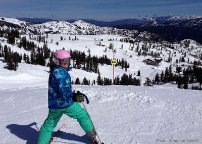 Ski trips with kids build self confidence