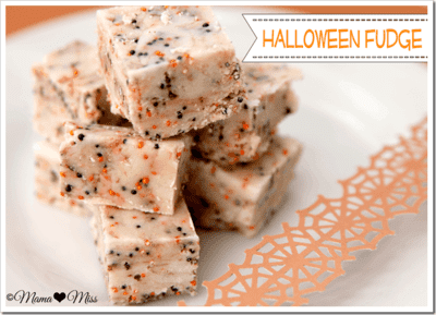Mama Miss - Delicious recipe for Halloween Fudge Recipe