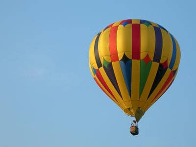 hot air balloon kansas