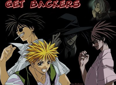 Manga Get Backers