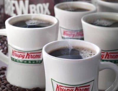 Free coffee at Krispy Kreme on National Coffee Day