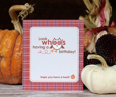 Protected: Owl Birthday Card – Exclusive Free Printable
