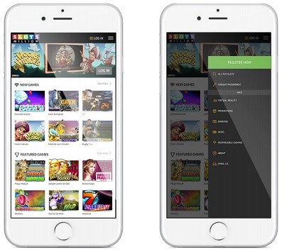 SlotsMillion Casino Mobile Games and App