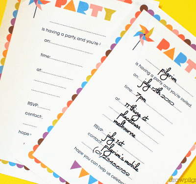 A Month of Free Birthday Printables