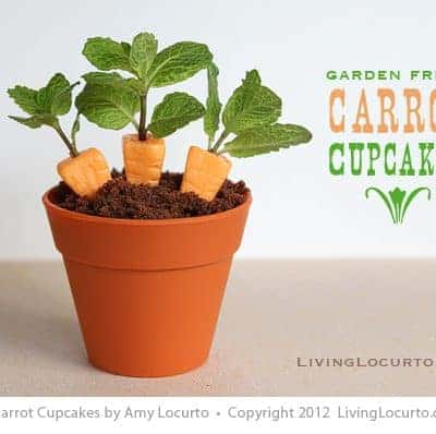 Candy Carrot Cupcakes    Party Food Easter Craft
