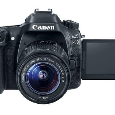 Canon 80D (18-135MM) USM