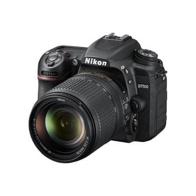 Nikon D7500 with 18-140mm lens