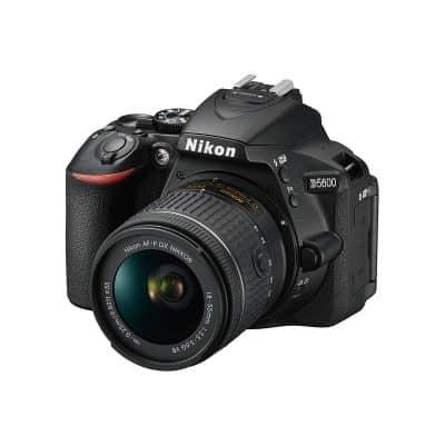Nikon D5600 with lens 18 - 55mm