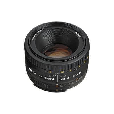 Nikon Lens 50mm 1.8D