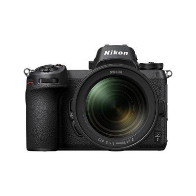 Nikon Z 7 with lens (24 – 70mm)