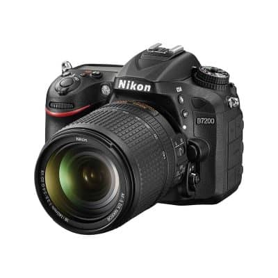 Nikon D7200 with 18 – 140mm Lens