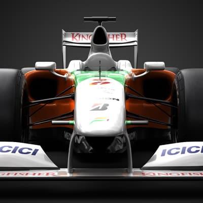 1218 2009 F1 Force India VJM02
