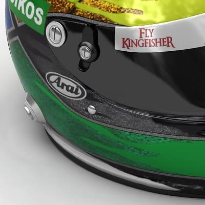 1635 Giancarlo Fisichella New F1 Helmet