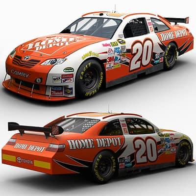 2079 Nascar COT Stock Cars Joe Gibbs Racing Pack