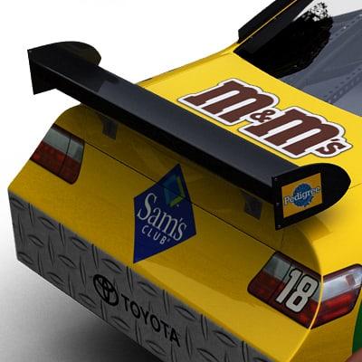 2086 Nascar COT Stock Cars Joe Gibbs Racing Pack