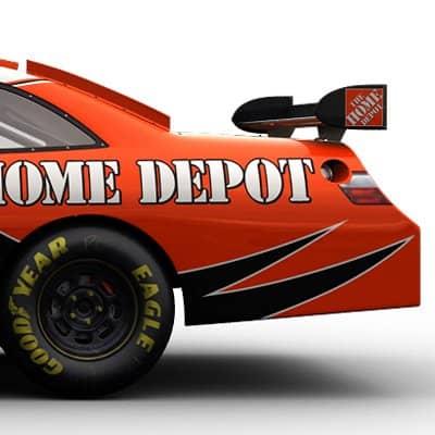 2089 Nascar COT Stock Cars Joe Gibbs Racing Pack