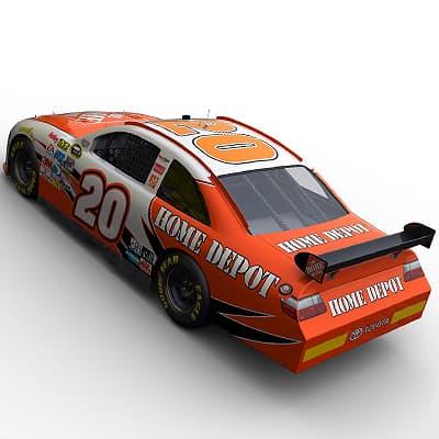 2091 Nascar COT Stock Cars Joe Gibbs Racing Pack