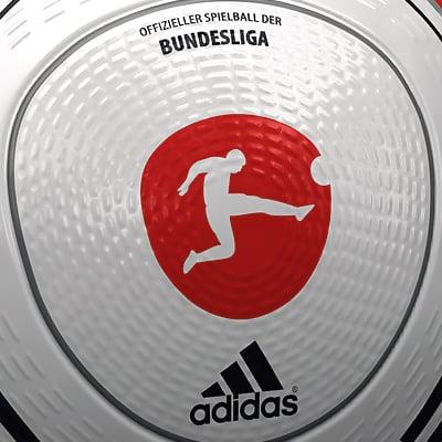 2280 2010 2011 Bundesliga Match Ball