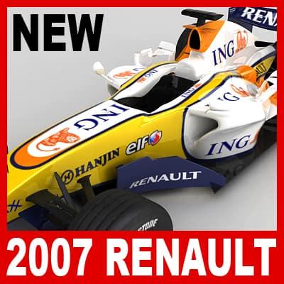 689 2007 F1 ING Renault R27