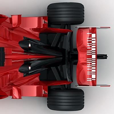 796 2008 F1 Ferrari F2008