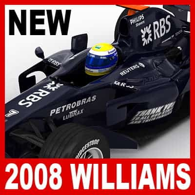 958 2008 F1 Pack