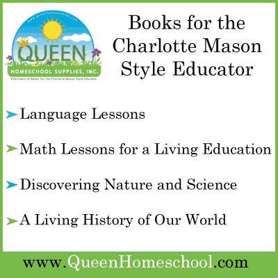 Queen Homeschool Supplies for all your Charlotte Mason Curriculum Needs!